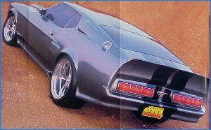 71 Eleanor Mustang
