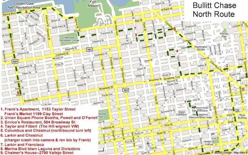 Bullitt move locations on