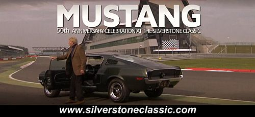 Silverstone 50th Bullitt movie