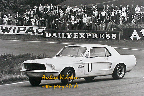 1967 SHELBY Mustang Hardtop Group 2 #8