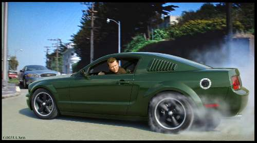 a more authentic one off bullitt the mustang source ford mustang forums. Black Bedroom Furniture Sets. Home Design Ideas