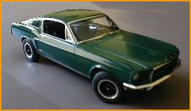 Another view of Everetts BULLITT miniature artifact.