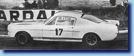 Claude DuBois racing at Le Mans 1967 with SFM5R539